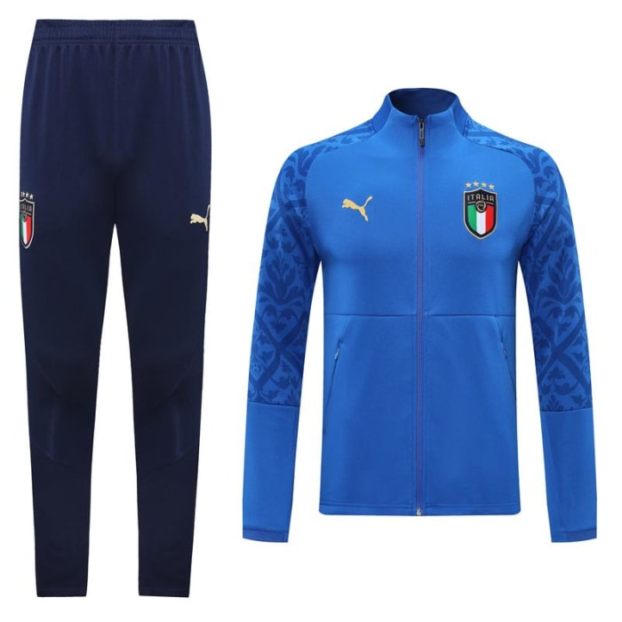 Kit training Itália 2020/2021 - Azul e Branco (0)
