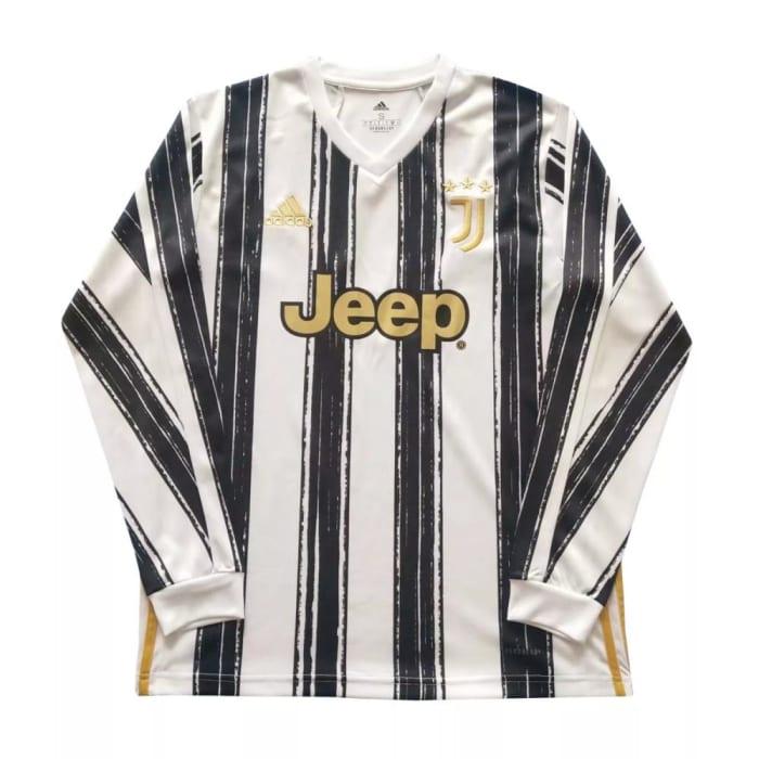 Camisa Home Juventus 2020/2021 - Manga Longa (0)
