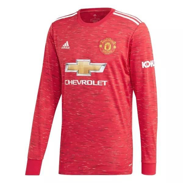 Camisa Home Manchester United 2020/2021 - Manga Longa (0)