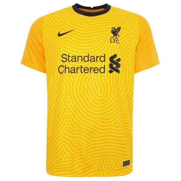 Camisa de Goleiro Liverpool 2020/2021 - Amarela (0)