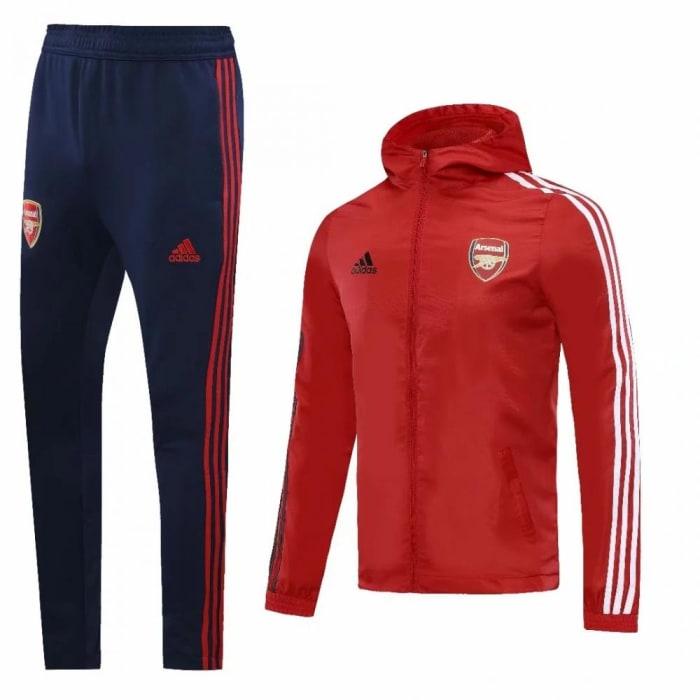 Kit treinamento c/capuz Arsenal 2020 (0)