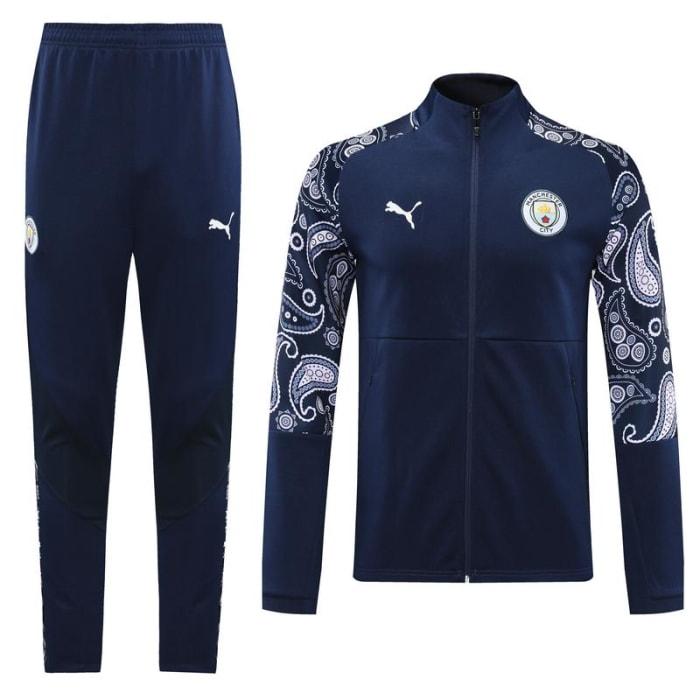 Kit Training Manchester City 2020/2021 - Azul Marinho (0)