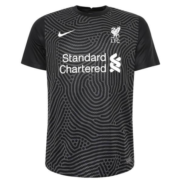 Camisa de Goleiro Liverpool 2020/2021 - Preta (0)
