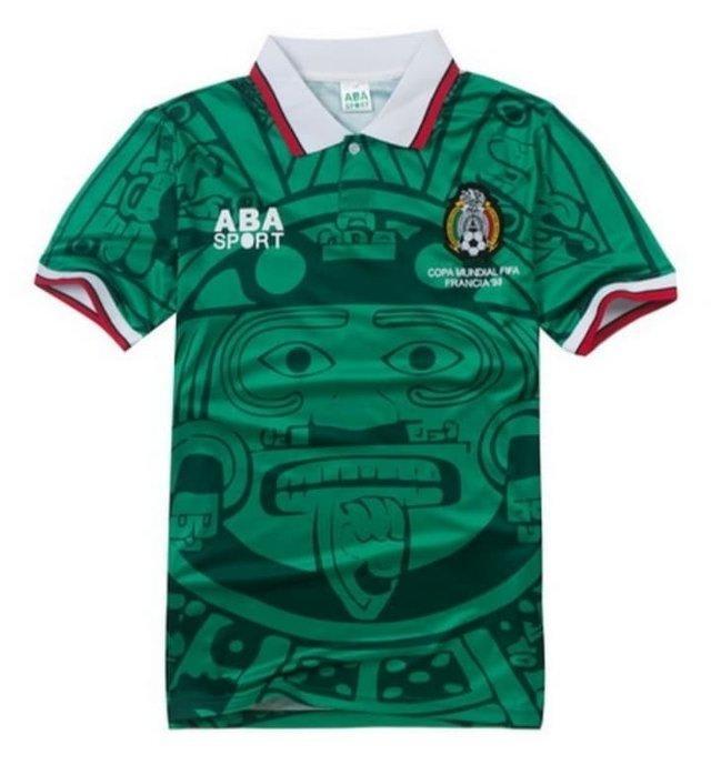 Camisa Retrô Home México 1986 (0)