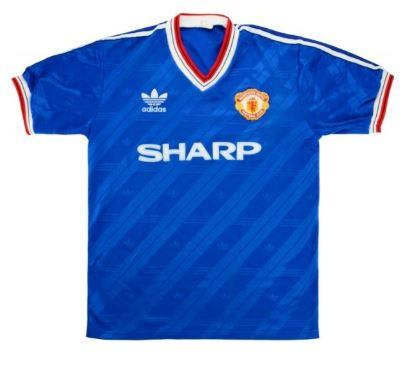 Camisa Retrô Away Manchester United 1985 1986 (0)