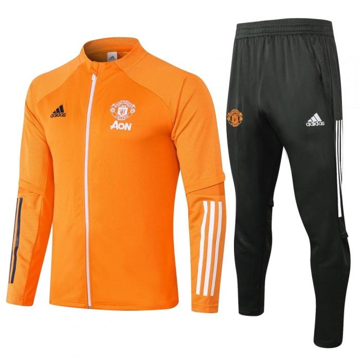 Kit Training Manchester United 2020 - Laranja (0)